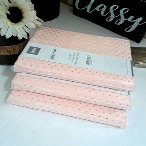 NWT Journal bundle 3 pink journals